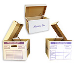 Archive Box small £2.89, Large £3.40