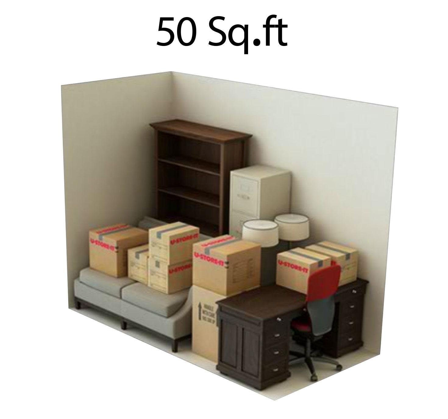 50 sgft storage